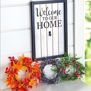 Welcome to Our Home Interchangeable Sign-4 piece